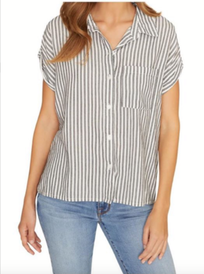 Stripe BF Button-Down