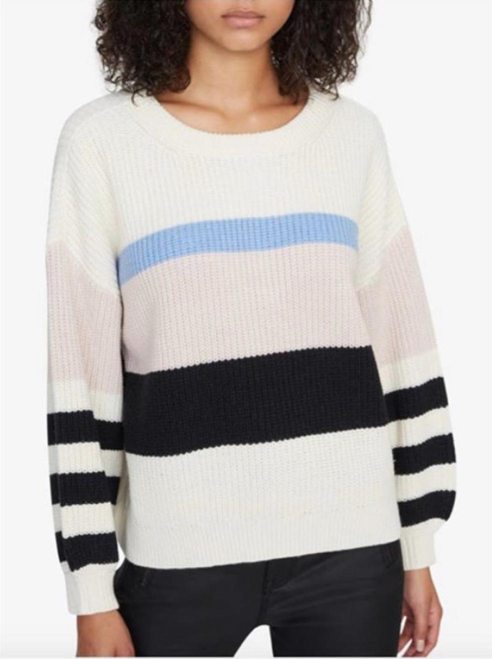 Playful Stripe Sweater
