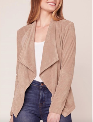 Stone Sueded Jacket