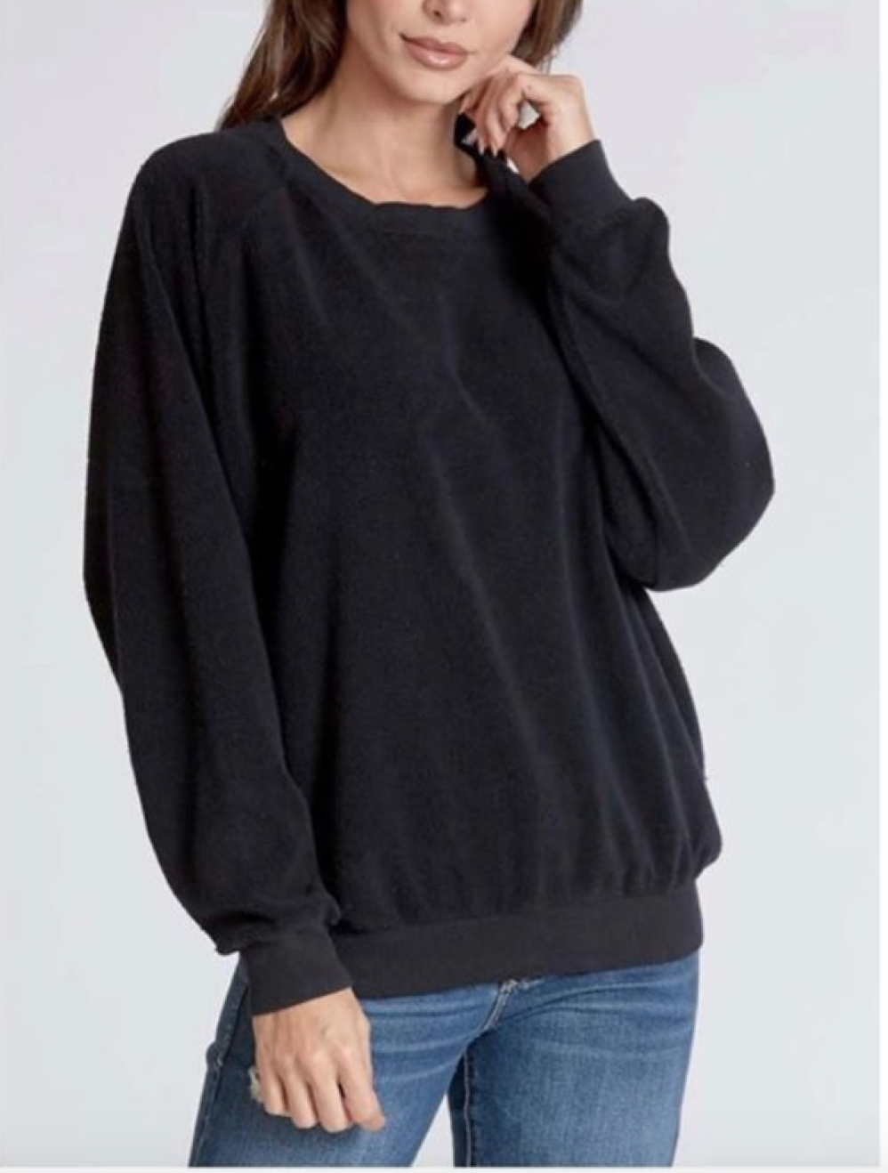 Black Tanya Sweater