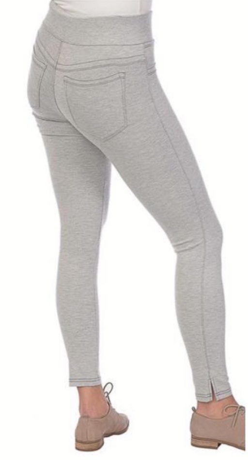 Grey Pull-On Legging