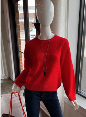 Red L/S Sweater