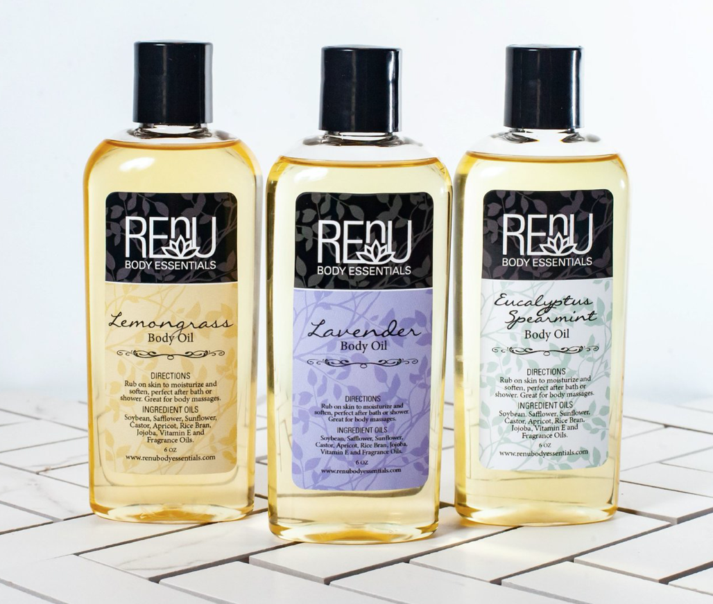 REnU Body Oils