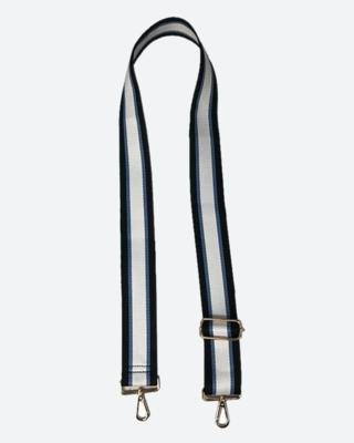 Blue/Black Stripe Guitar Strap