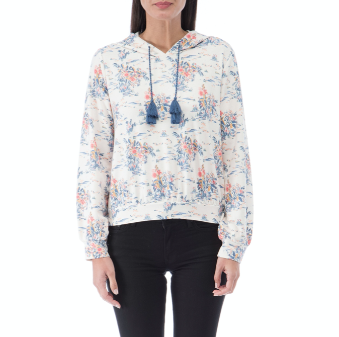 Water Lily French Terry Hoodie