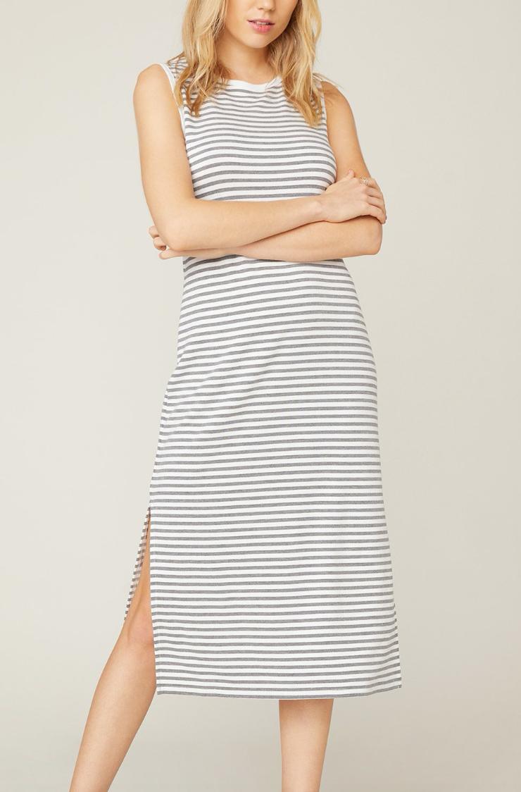 Gry Stripe Maxi Dress