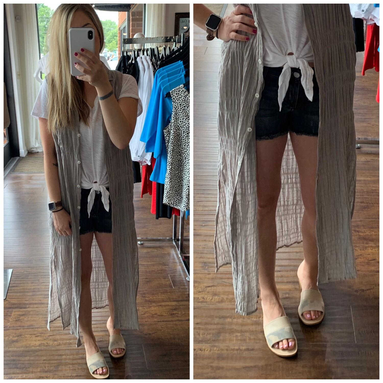 Mia Maxi Dress/Duster
