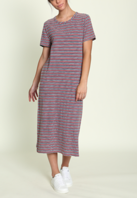Camp Stripe Midi Dress