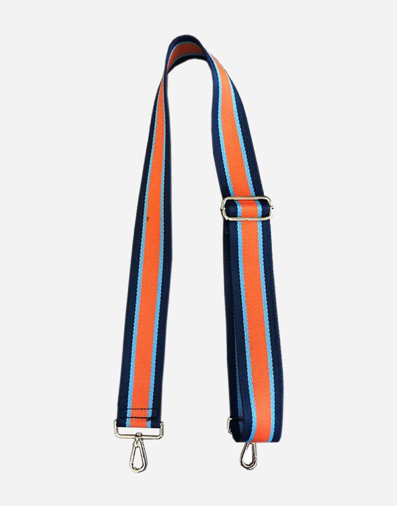 Navy/Orange Guitar Strap
