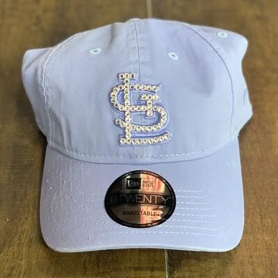 Lavender New Era Hat w/ Clear