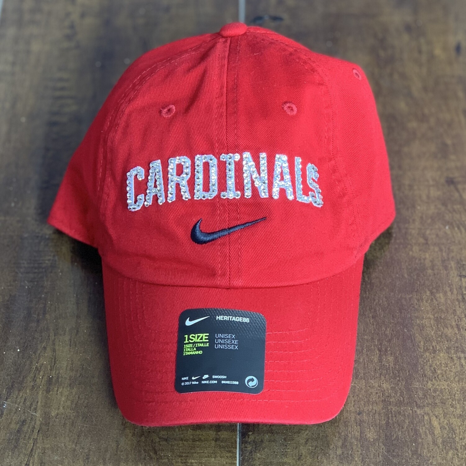 Red Nike Cardinals Hat