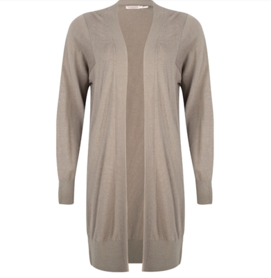 Olive Cashmere Duster