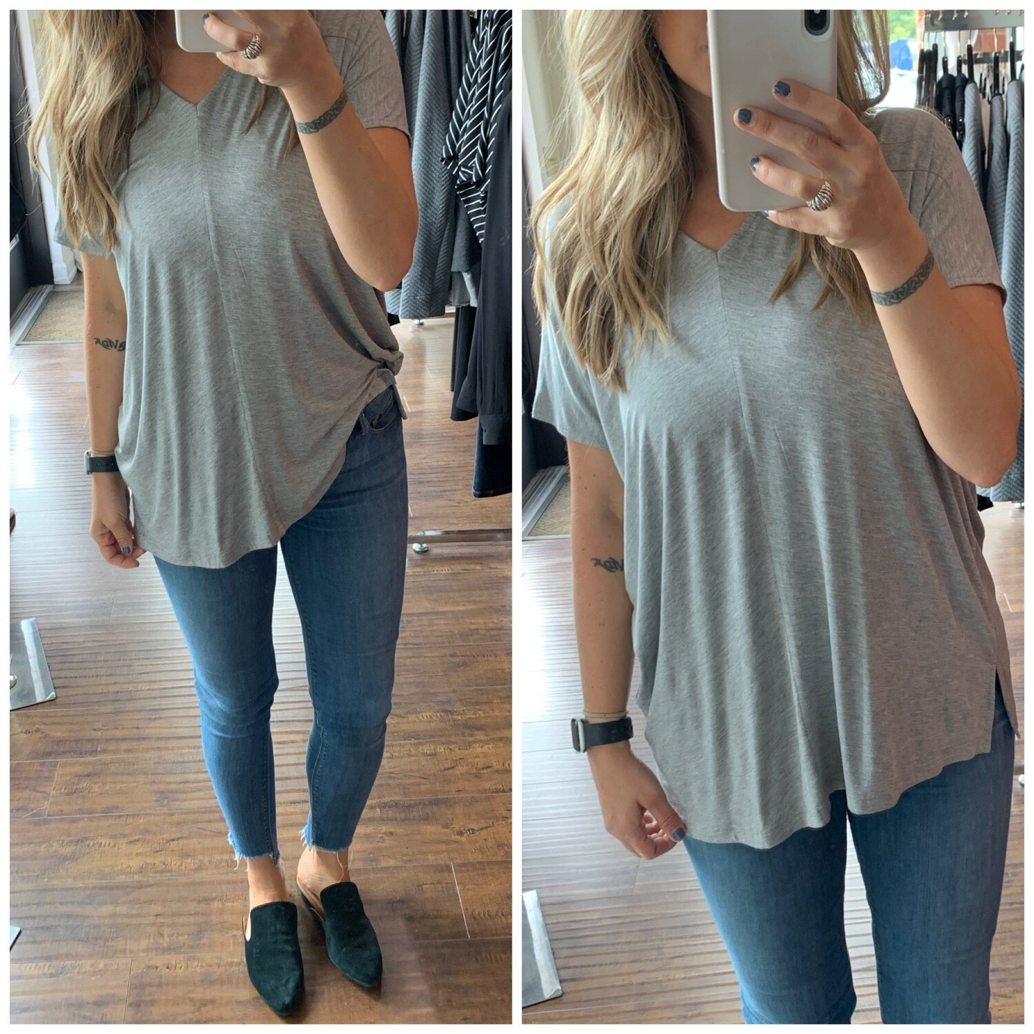 Grey Luxe Pullover