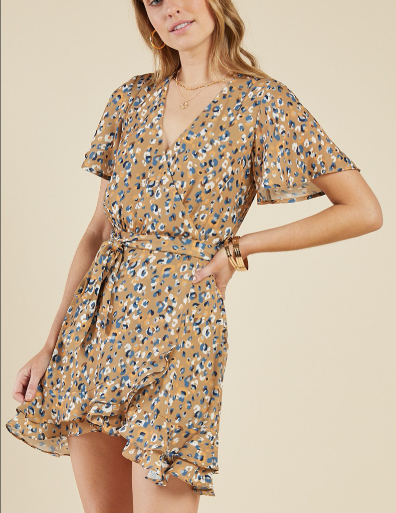 Wildcat Wrap Dress