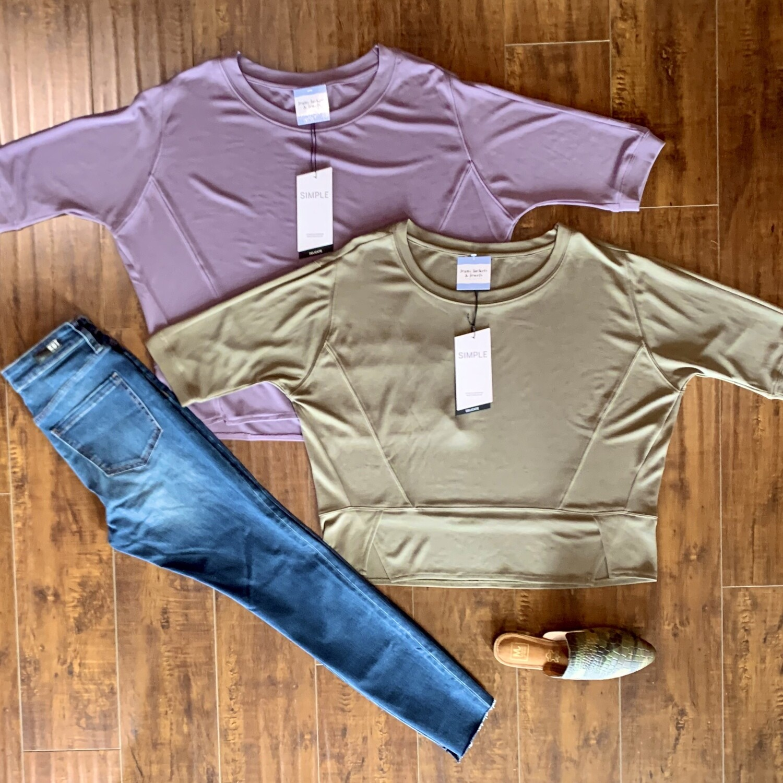 Purple Cozy Top
