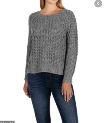 Charcoal Page Sweater