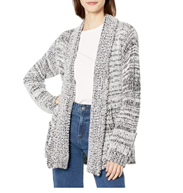 Speckled Chenille Cardi