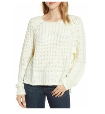 Ivory Page Sweater