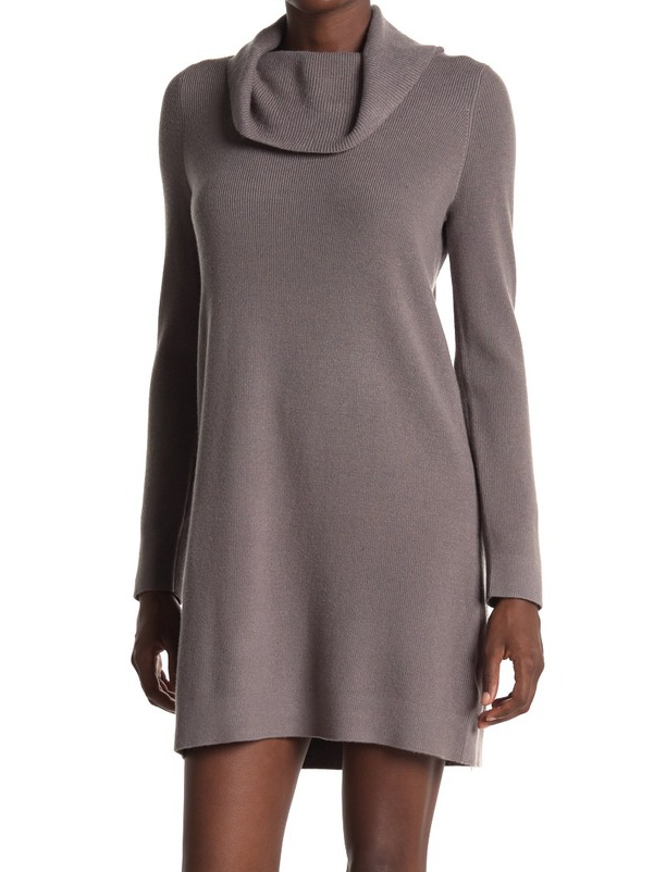Grey Cowl Tunic/Dress