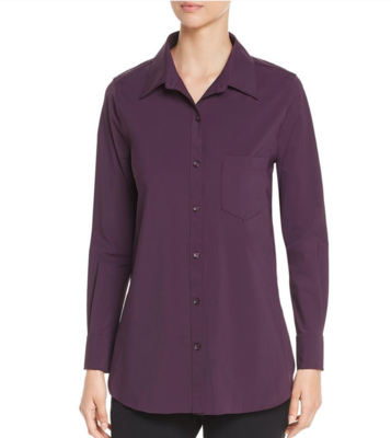 Plum Schiffer Button-Down