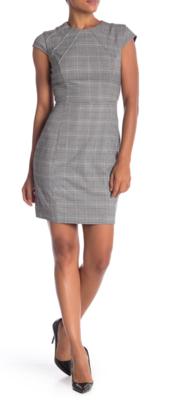 Glencheck Print Dress
