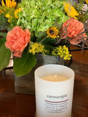 Cornucopia Candle