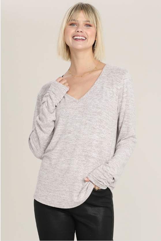 Gry Hacci V-Neck Top