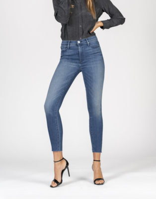 Carmen High Rise Fray Skinny
