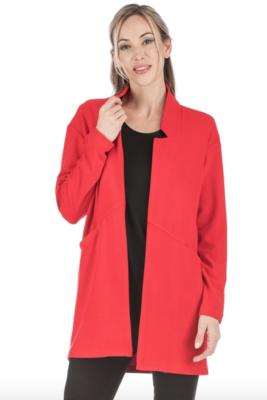 Red Open Coat