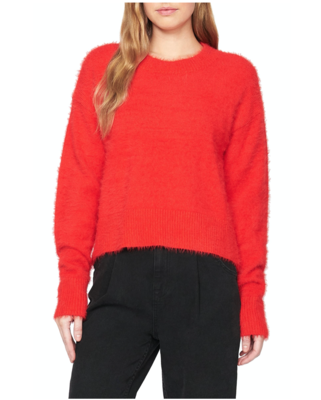 Red Cozy Pollover Sweater