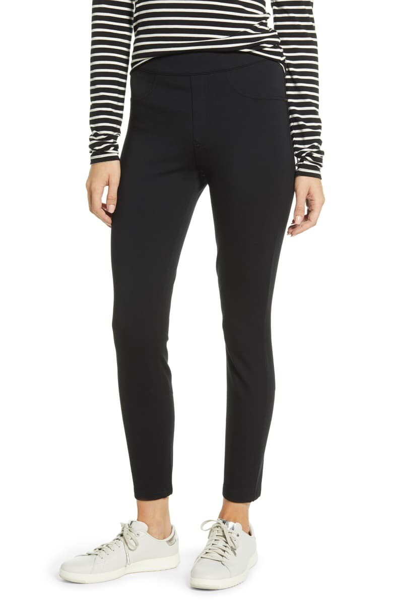 Blk Perfect Ankle Pant