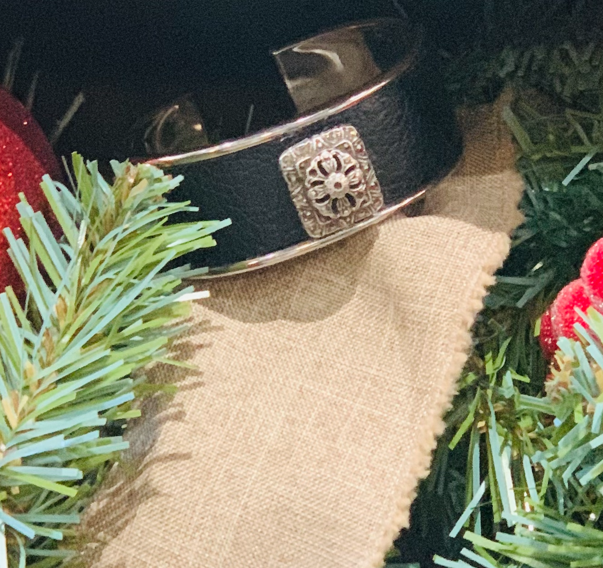 Marcasite Ring Petite Vtg. Cuff