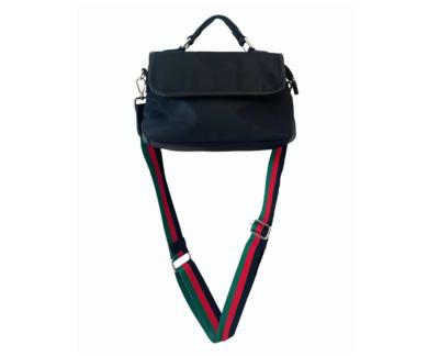 Nylon Top Handle Bag W/ Strap