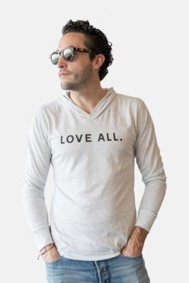 Love All Hoodie-H. White