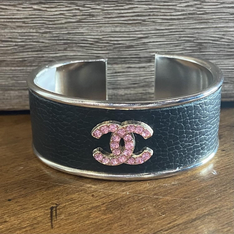 Pink Vtg Chanel Petite Cuff