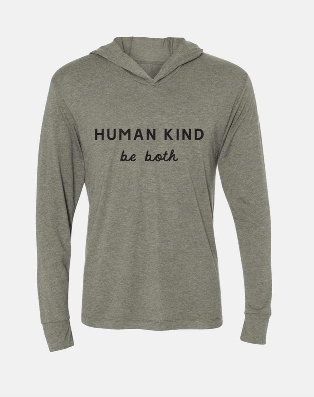 Human Kind Hoodie- H. Grey