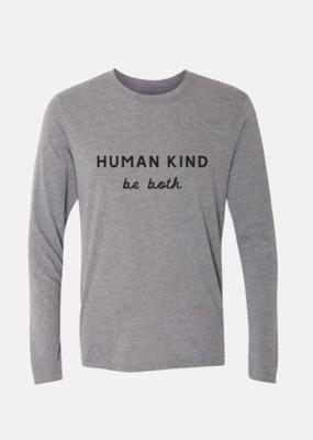 Human Kind L/S- H. Grey