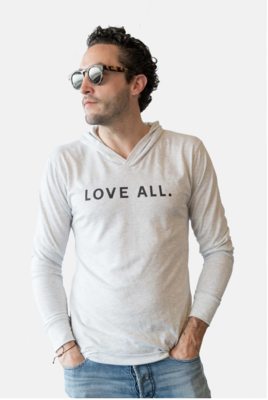 Love All Hoodie-H. Grey