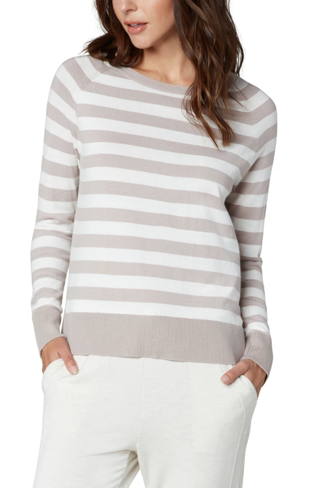 Stripe Raglan Sweater