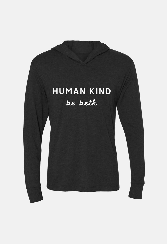 Human Kind Hoodie-Charcoal