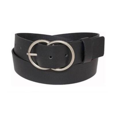 Black Double O-Ring Belt