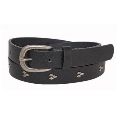 Black Diamond Stud Belt