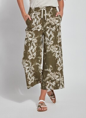 Tropical Lila Crop Pant