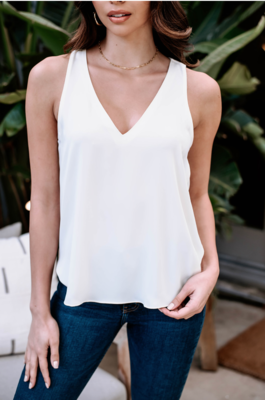 Ivory Shell Blouse