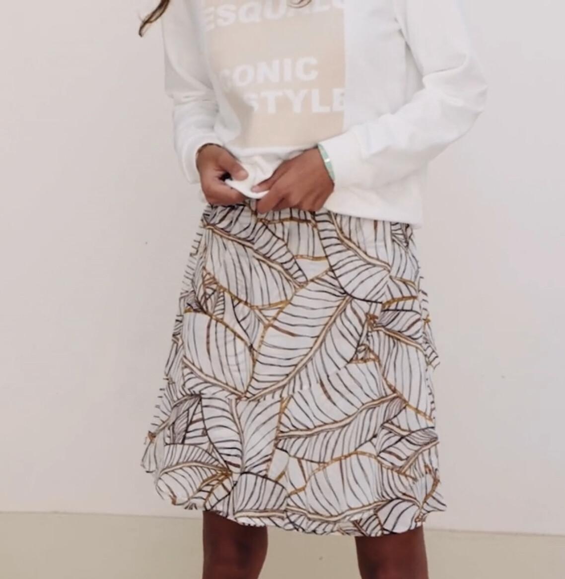 Tropicana Ruffle Skirt