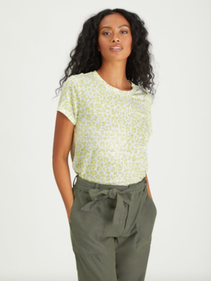 Lime Leopard Perfect Tee