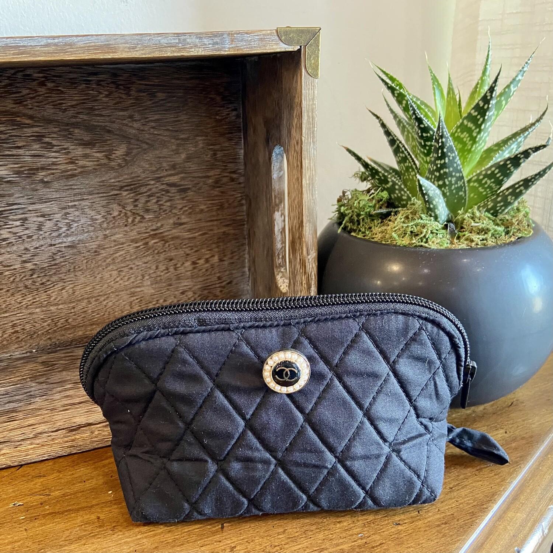 Pearl Chanel Cosmetic Bag