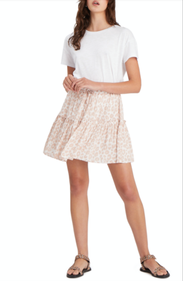Flirt Leopard Mini Skirt