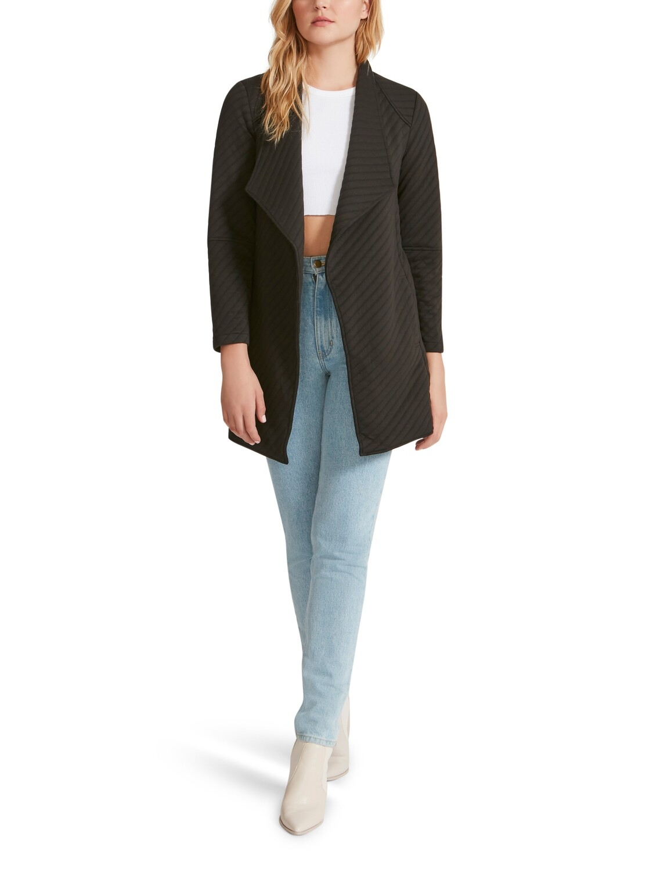 Black Soft Landing Coat