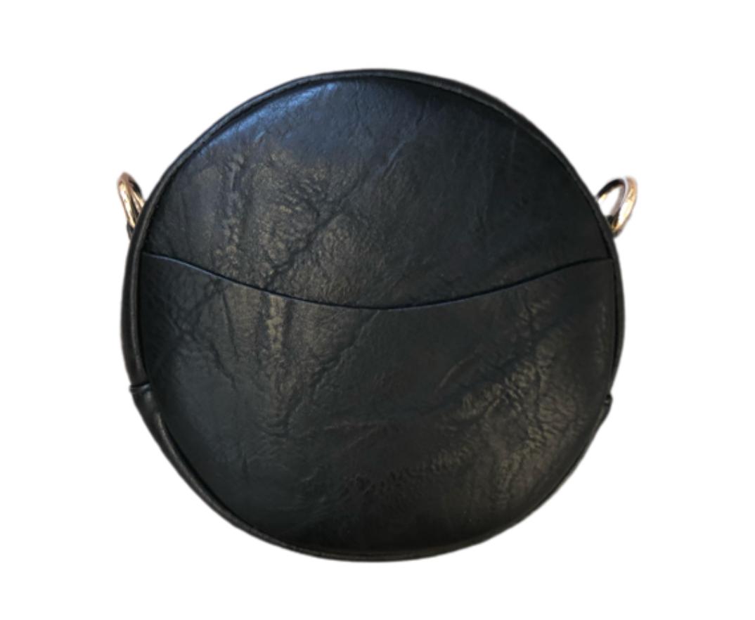 Sm. Round Vegan Leather